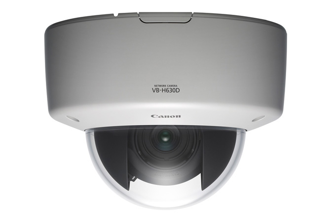 VB-H630D Canon/Axis Fixed Dome Network Camera