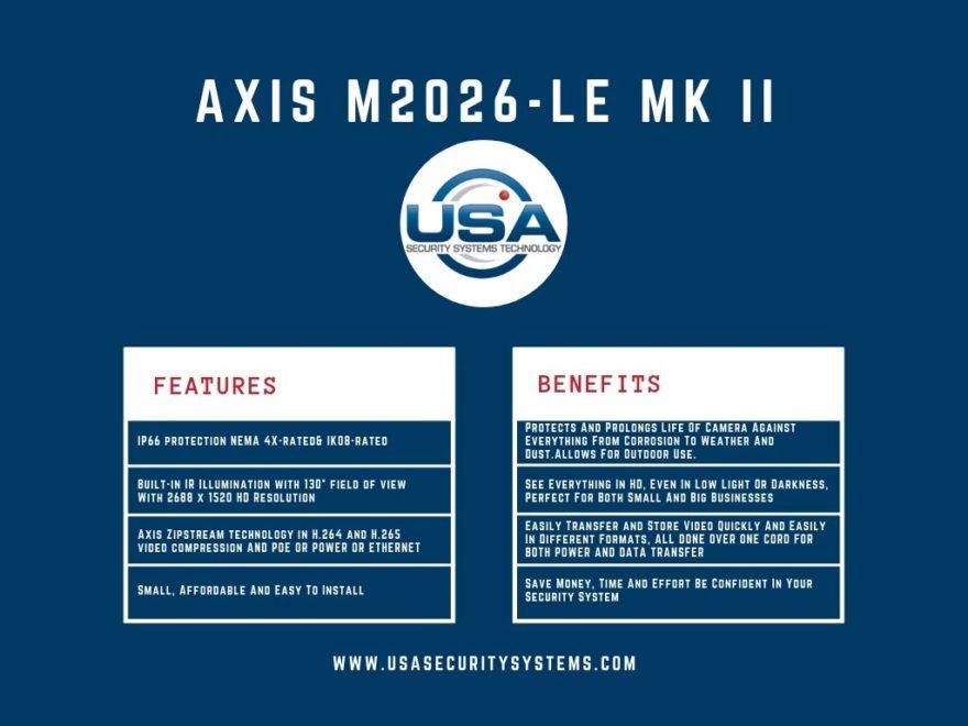 M2026-LE MKII Comparison Chart
